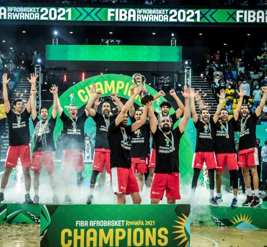 🏆 We are the champions 🏆🔥🏀🇹🇳 2021